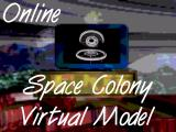 Online Space Colony Virtual Model